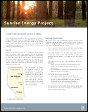 Sunrise Energy Project Brochure