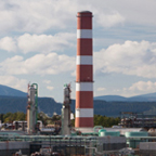 Panoramic view of Ram River Gas Plant