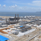 Gaolan Gas Terminal (Liwan Project) - Fall 2013